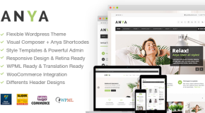 Anya – Fresh Business & Ecommerce WordPress Theme