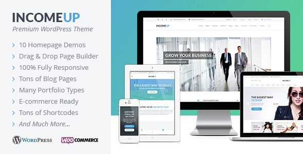 IncomeUp-Multipurpose-WordPress-Theme