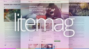 LiteMag – Easy to use Minimalist Magazine Theme