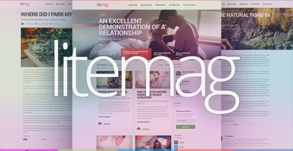 LiteMag - Easy to use Minimalist Magazine Theme