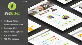 PetSitter – Job Board Responsive WordPress Theme