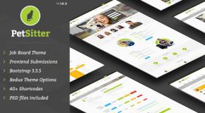 PetSitter – Job Board Responsive WordPress Theme