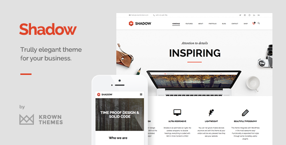 Shadow - Responsive Onepage Theme
