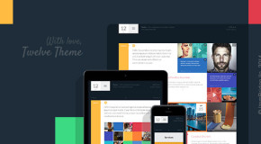 Twelve — Original & Creative WordPress Theme