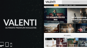 Valenti – WordPress HD Review Magazine News Theme