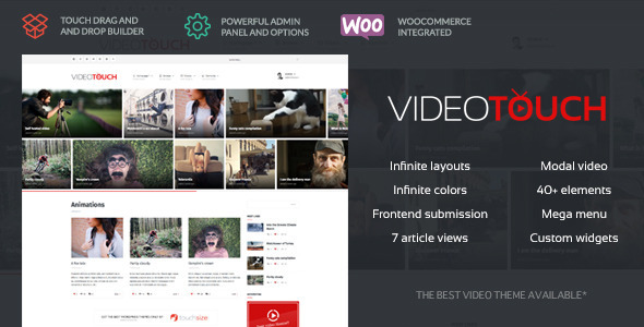 Best Premium Responsive Wordpress Theme – 30+ Best Premium Video ...