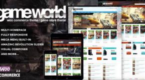 WooCommerce Game Theme – GameWorld