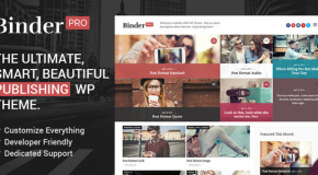 Binder PRO – Publishing Multi-Purpose WP Theme