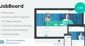 JobBoard – Responsive Job Market Theme